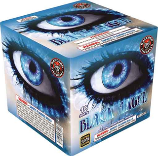 RA53801 Black Angel 500 Gram 16 Shots Cake