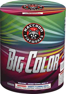 RA23003 BIG COLOR 200 Gram 9 Shots Round Cake