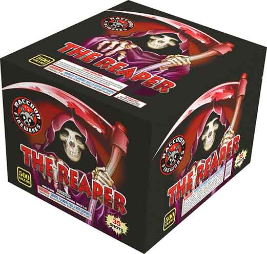 RA53629 The Reaper 500 Gram 35 Shots Rectangle Cake