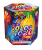 RA22511 Color Storm 200 Gram 19 Shots Hexagon Cake