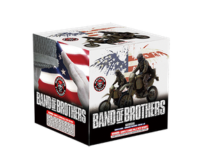 RA53653 Band of Brothers 500 Gram 12 shots Cake