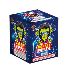 RA22521 Monkey Business 200 Gram 24 Shots Cake