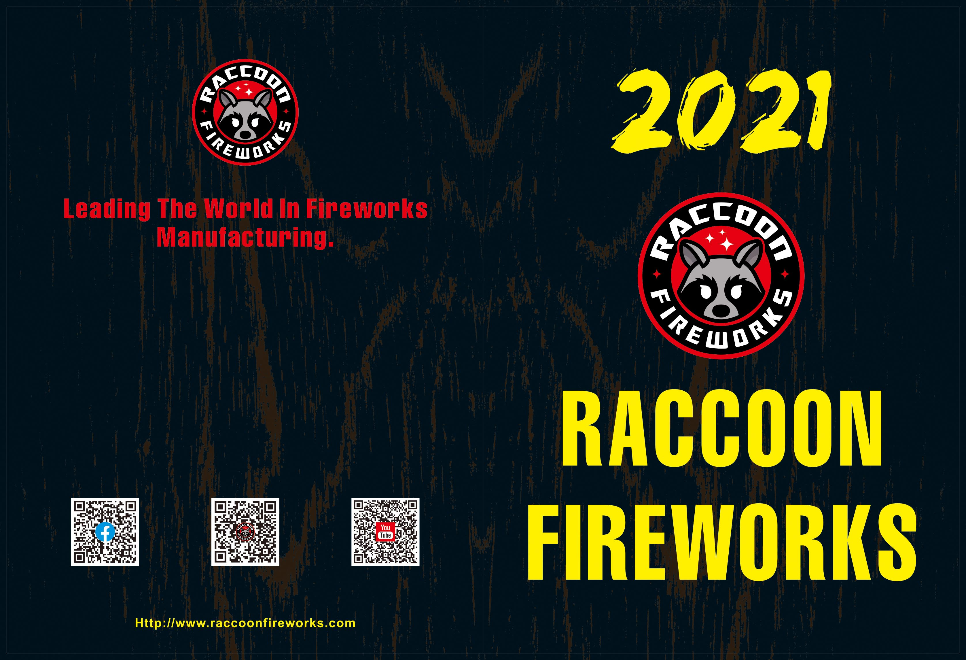 #Raccoon FIreworks New Catalog of New Items for 2021#