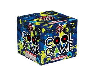 RA53819 Cool Game 500 Gram 9 shots Cake