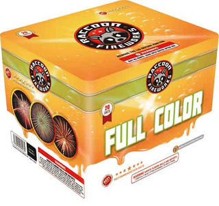 RA53013 FULL COLOR 500 Gram 20 Shots Rectangle Cake