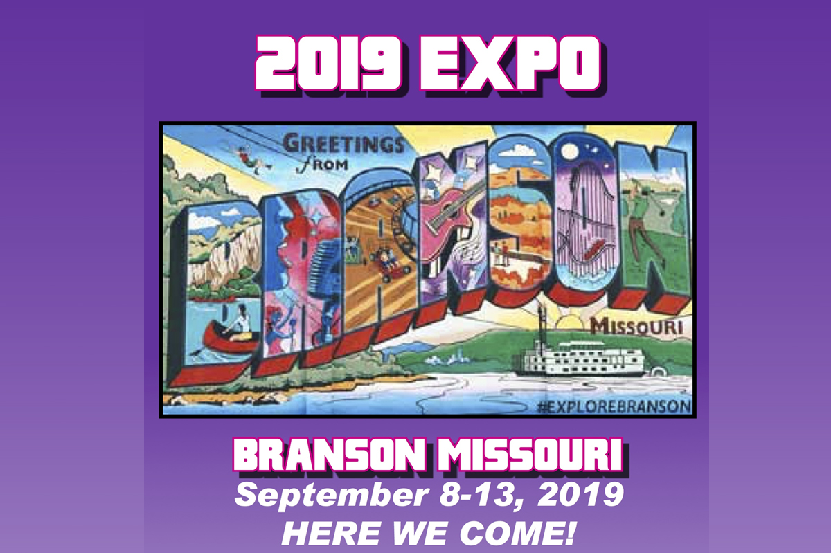 2019 NFA EXPO, SEE U in BRANSON, MO!!!